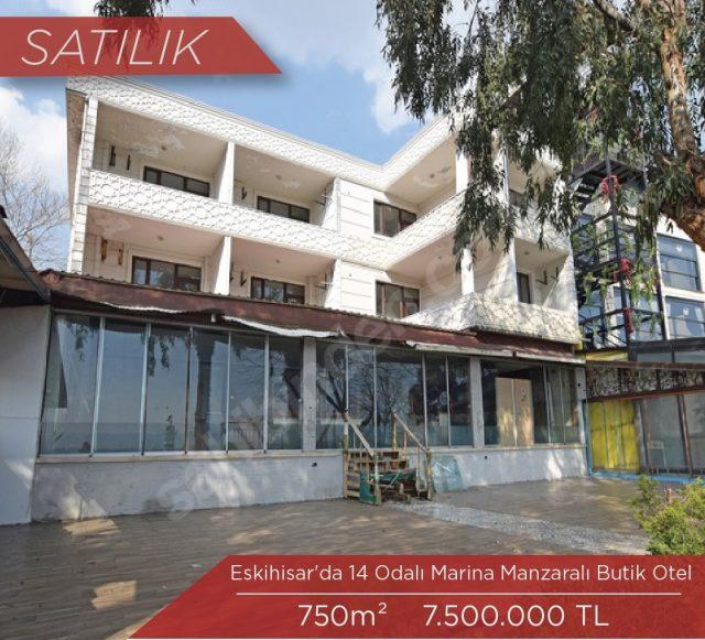 Eskihisar'da Satılık Butik Otel