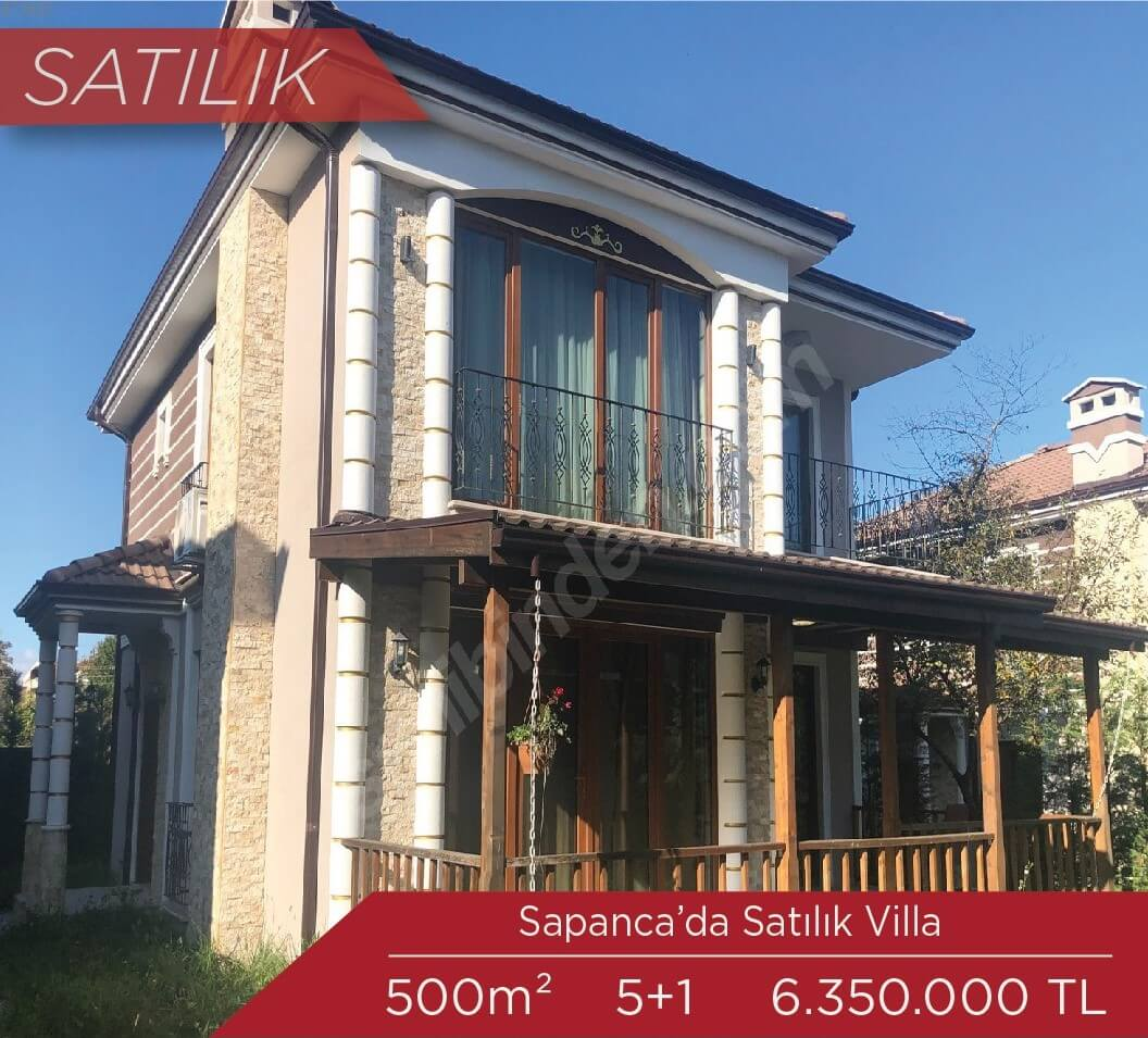 Sapanca Satılık Villa