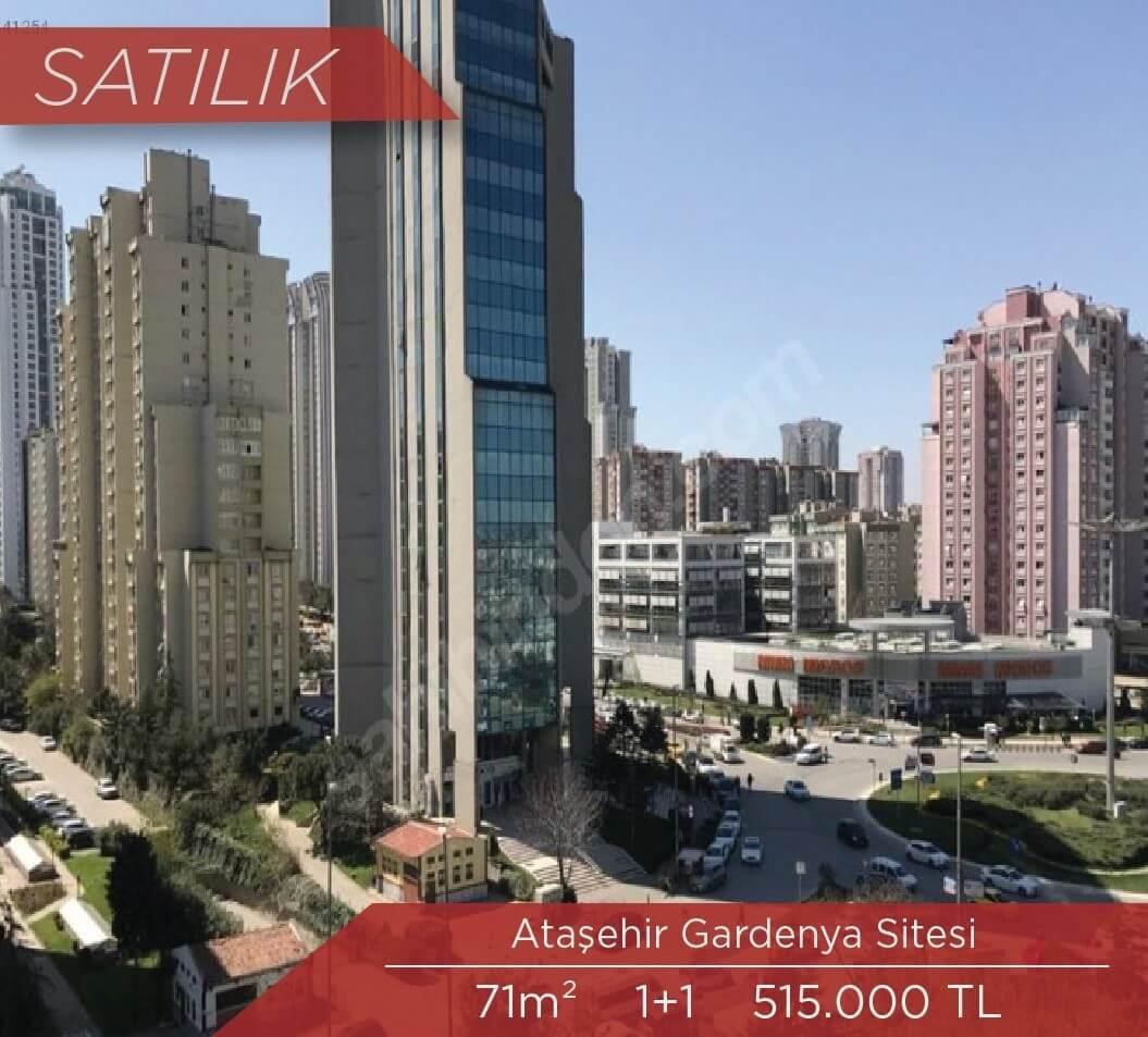 Ataşehir Gardenya 1+1 Satılık