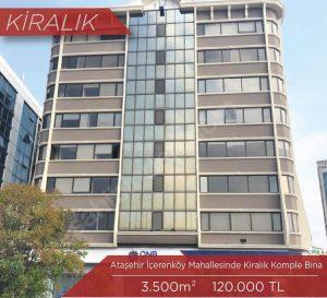 Ataşehir Komple Kiralık Bina