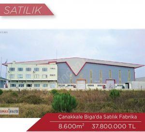Çanakkale Biga Satılık Fabrika