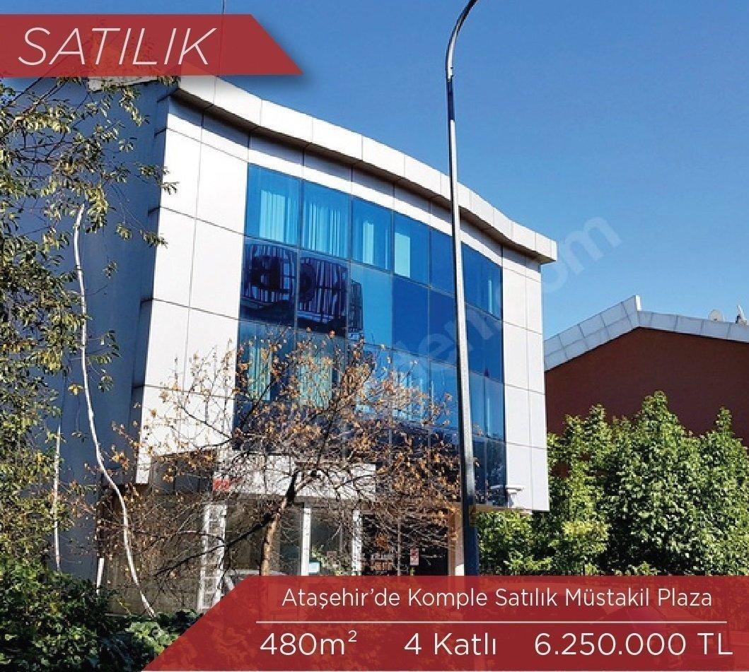 Ataşehir'de Satılık Komple Plaza