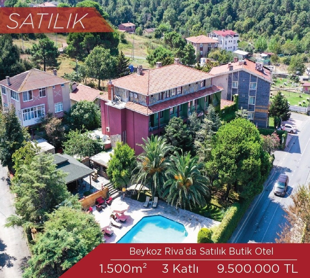 Beykoz Riva'da Satılık Otel